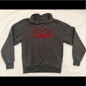 Indiana Hoosiers half zip sweatshirt!!!